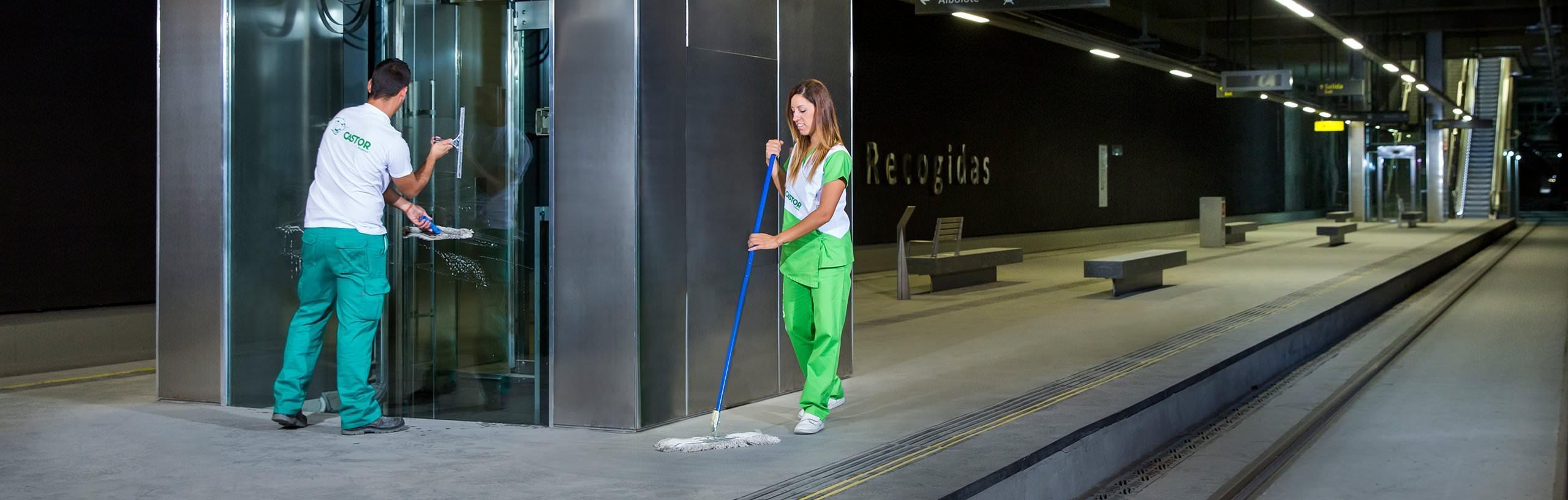 Limpiezas Castor. 4-1 Empresa de Limpieza Granada. Limpiezas Castor